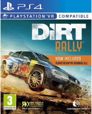 DIRT RALLY - PS4 GAME