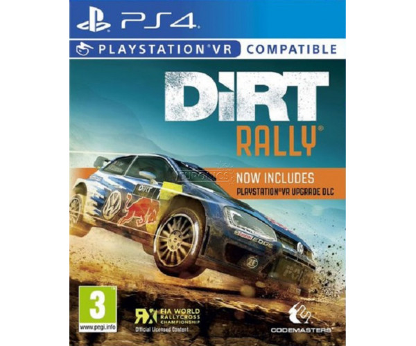 DIRT RALLY (ΣΥΜΒΑΤΟ ΚΑΙ ΜΕ VR) - PS4 GAME