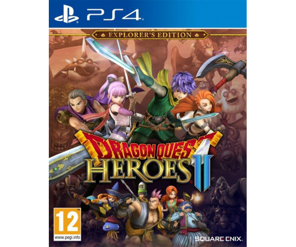 DRAGON QUEST HEROES 2 : EXPLORER'S EDITION - PS4 GAME