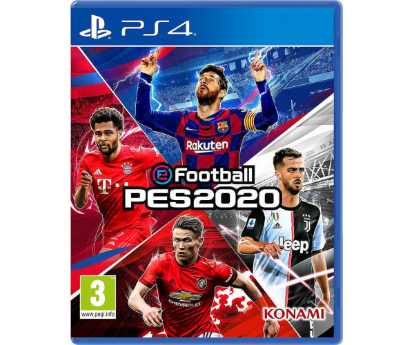 eFootball Pro Evolution Soccer 2020 (PES 2020) USED ΠΕΡΙΛΑΜΒΑΝΕΙ ΕΛΛΗΝΙΚΑ - PS4 NEW GAME