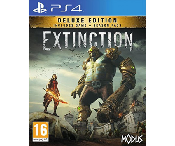 EXTINCTION DELUXE EDITION - PS4 GAME