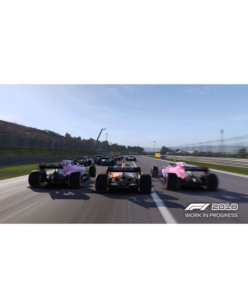 F1 2018 HEADLINE EDITION - PS4 NEW GAME