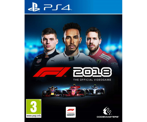 F1 2018 - PS4 NEW GAME