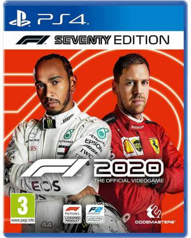 F1 2020 SEVENTY EDITION - PS4 NEW GAME