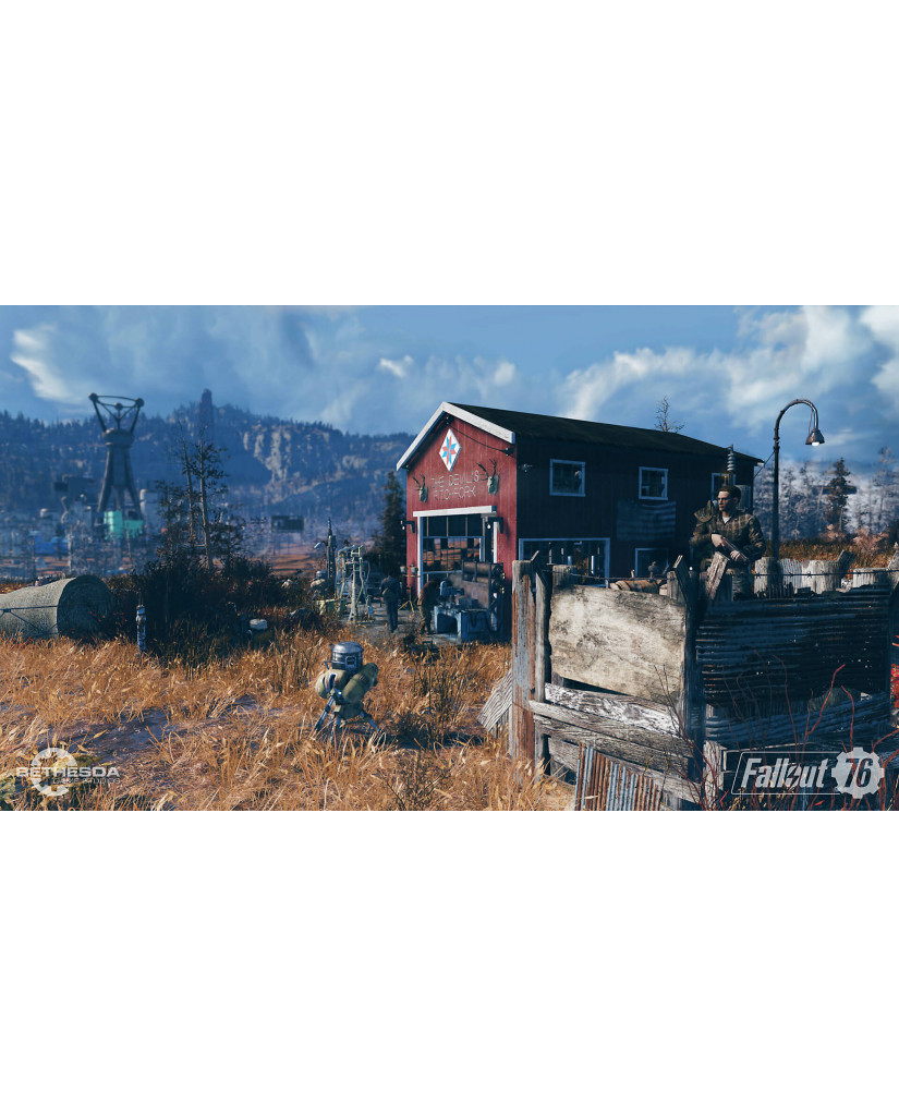 FALLOUT 76 - PS4 NEW GAME