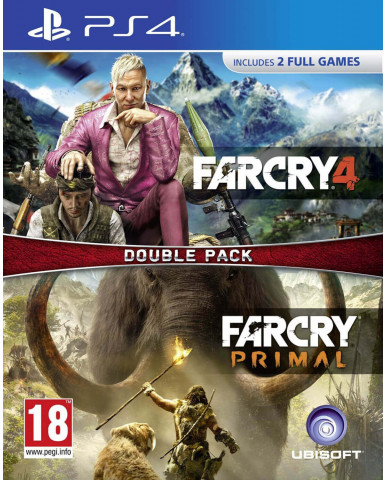 FAR CRY PRIMAL & FAR CRY 4 DOUBLE PACK - PS4 GAME