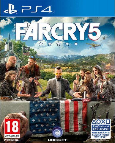 FAR CRY 5 - PS4 GAME