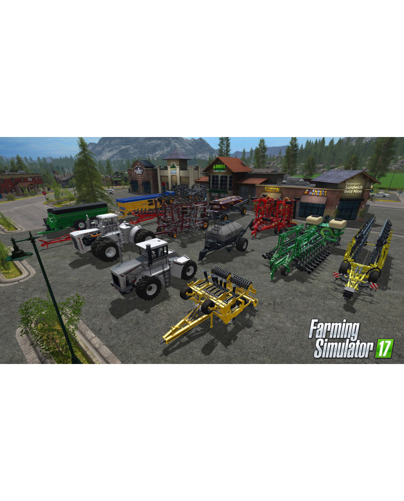 FARMING SIMULATOR 17 PLATINUM EDITION - PS4 GAME