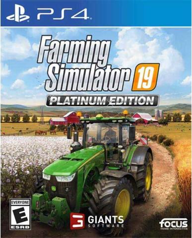 FARMING SIMULATOR 19 PLATINUM EDITION - PS4 NEW GAME