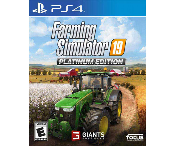 FARMING SIMULATOR 19 PLATINUM EDITION - PS4 NEW GAME