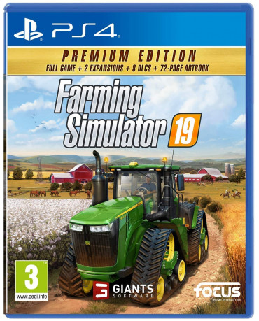 FARMING SIMULATOR 19 PREMIUM EDITION - PS4 NEW GAME
