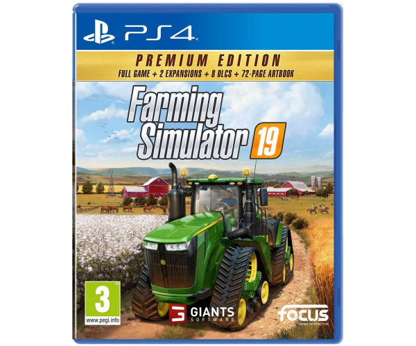 FARMING SIMULATOR 19 PREMIUM EDITION - PS4 NEW GAME