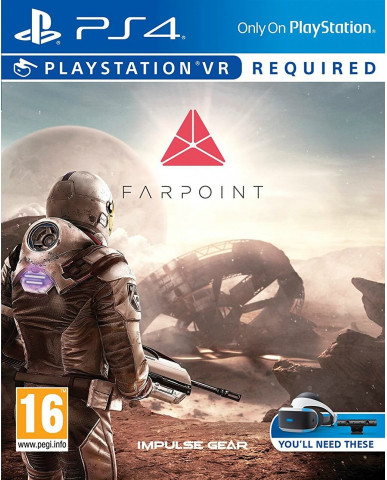 FARPOINT - PS4 VR GAME