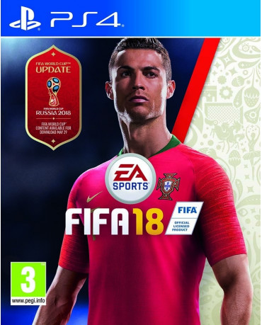 FIFA 18 + FIFA WORLD CUP UPDATE + ΔΩΡΟ FUT CARD - PS4 NEW GAME