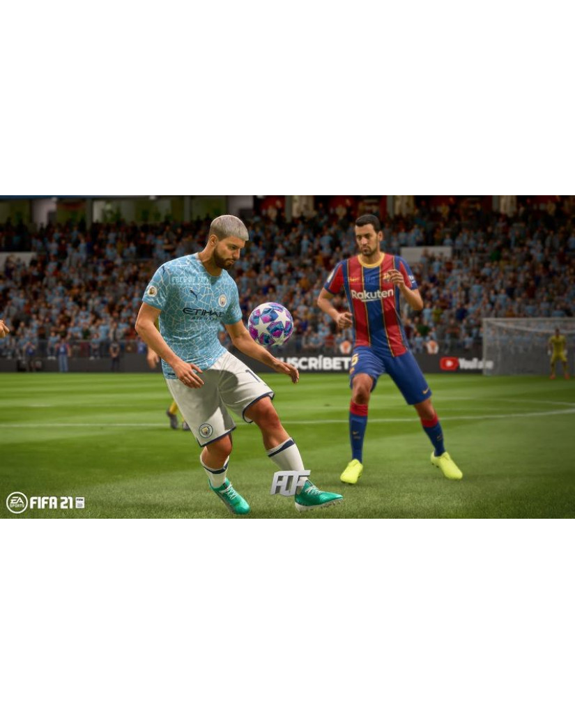 FIFA 21 + ΔΩΡΟ ΑΓΑΛΜΑΤΑΚΙ LIONEL MESSI (ΣΥΜΒΑΤΟ ΚΑΙ ΜΕ PS5) - PS4 NEW GAME