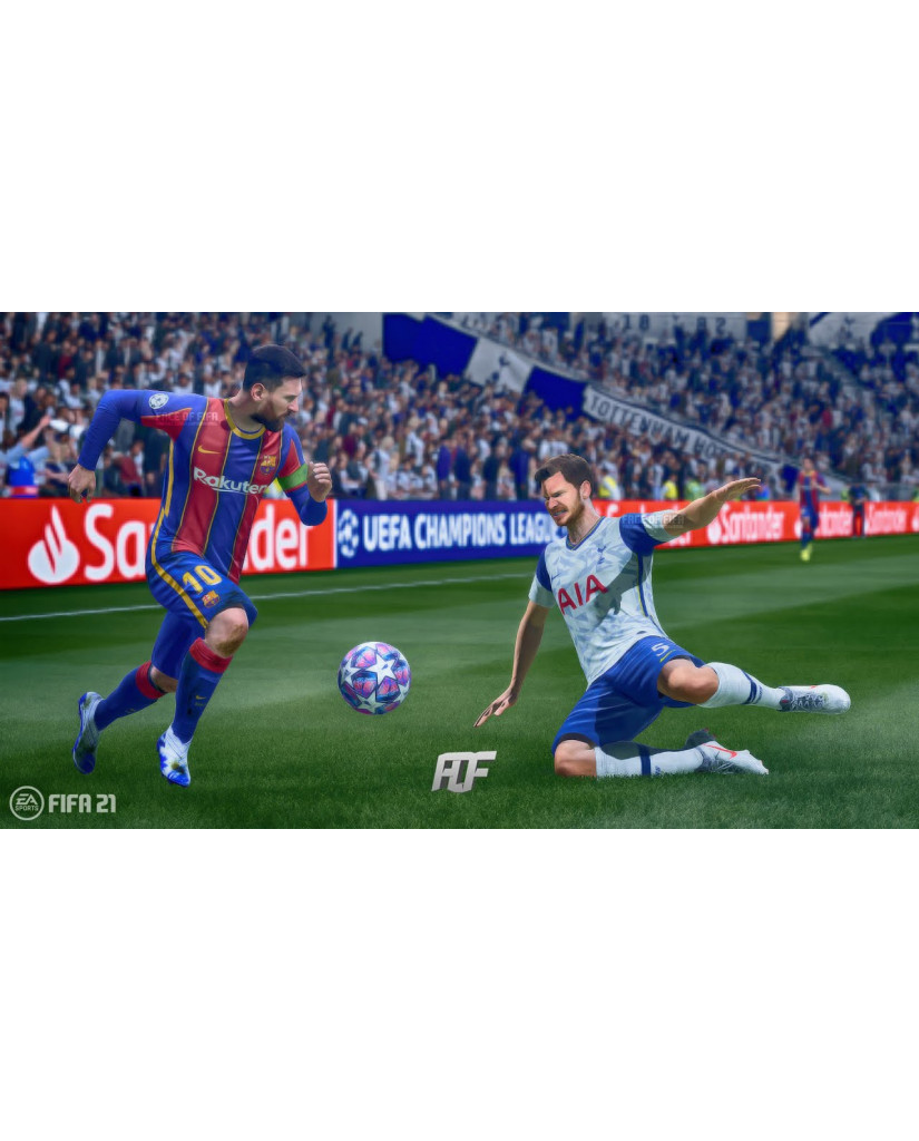 FIFA 21 CHAMPIONS EDITION + ΔΩΡΟ ΑΓΑΛΜΑΤΑΚΙ LIONEL MESSI (ΣΥΜΒΑΤΟ ΚΑΙ ΜΕ PS5) - PS4 NEW GAME