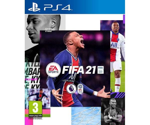 FIFA 21 + ΔΩΡΟ ΑΓΑΛΜΑΤΑΚΙ LIONEL MESSI - PS4 NEW GAME
