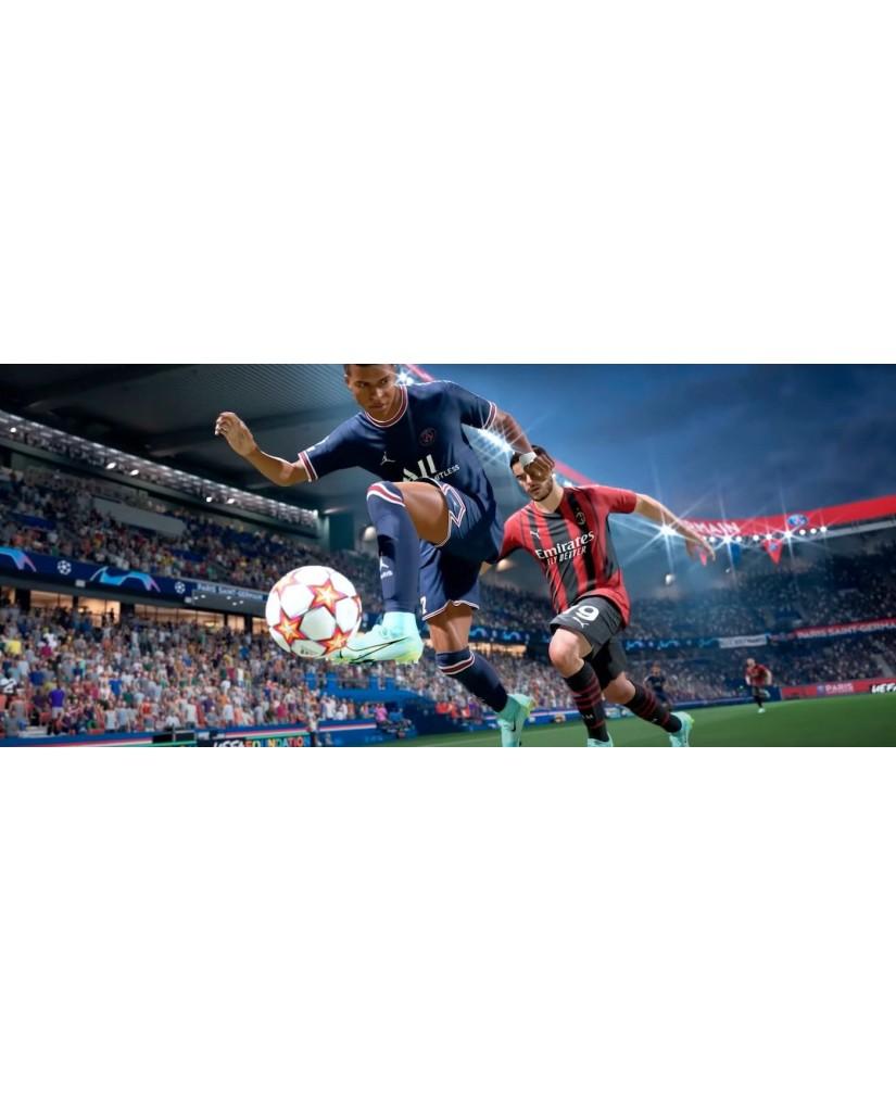FIFA 22 + ΑΓΑΛΜΑΤΑΚΙ LIONEL MESSI + PREORDER BONUS - PS4 NEW GAME