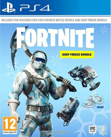 FORTNITE DEEP FREEZE BUNDLE - PS4 NEW GAME