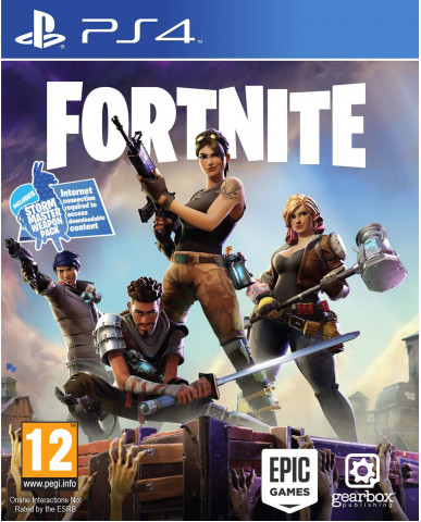 FORTNITE (KEY FOR DIGITAL DOWNLOAD) - PS4 GAME
