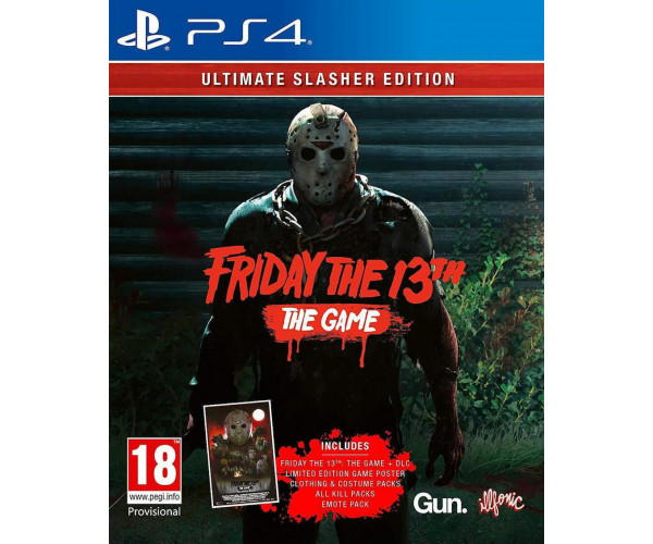 FRIDAY THE 13TH: THE GAME ULTIMATE SLASHER EDITION - PS4 GAME