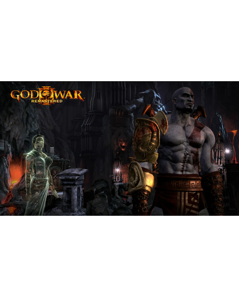 GOD OF WAR III REMASTERED - PS4 GAME