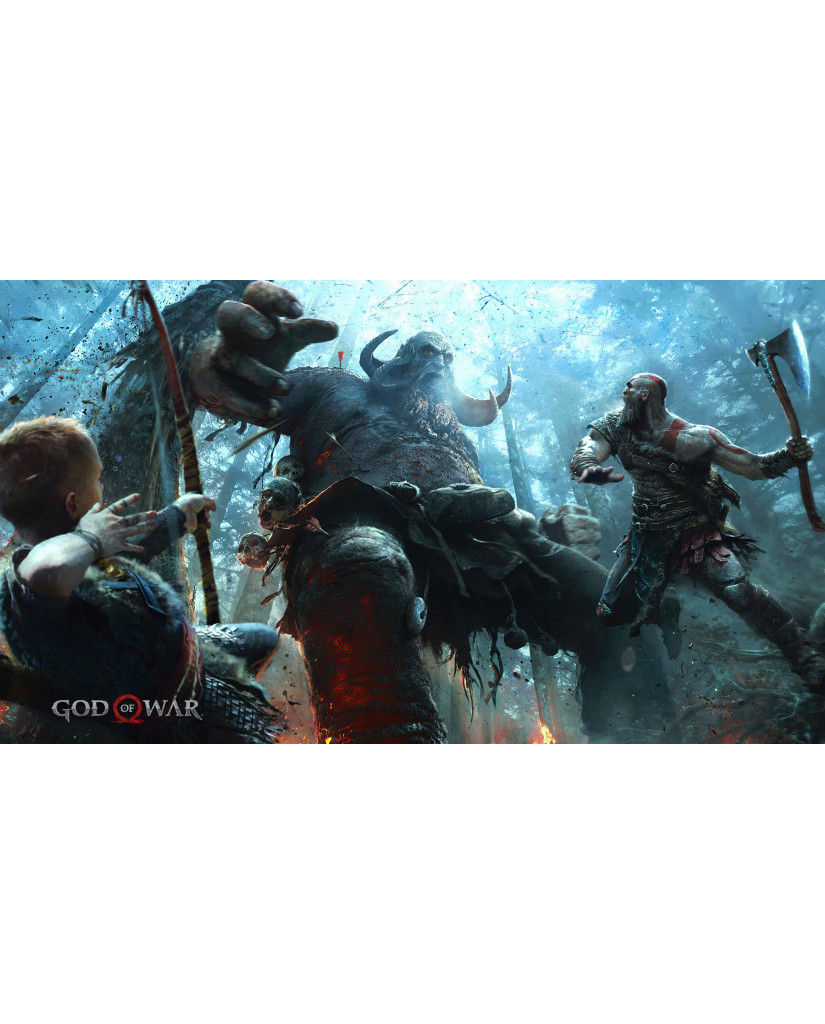 GOD OF WAR - PS4 NEW GAME