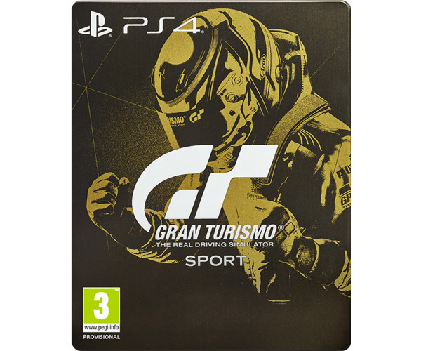 GRAN TURISMO SPORT SPECIAL STEELBOOK EDITION - PS4 GAME