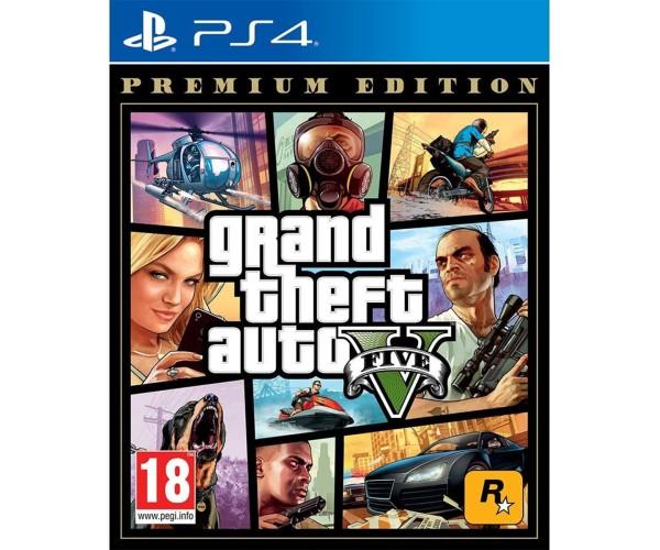 GRAND THEFT AUTO V (GTA V) PREMIUM EDITION - PS4 NEW GAME