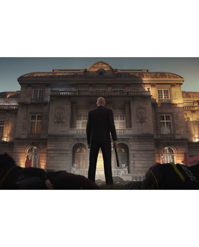 HITMAN DEFINITIVE STEELBOOK EDITION - PS4 GAME