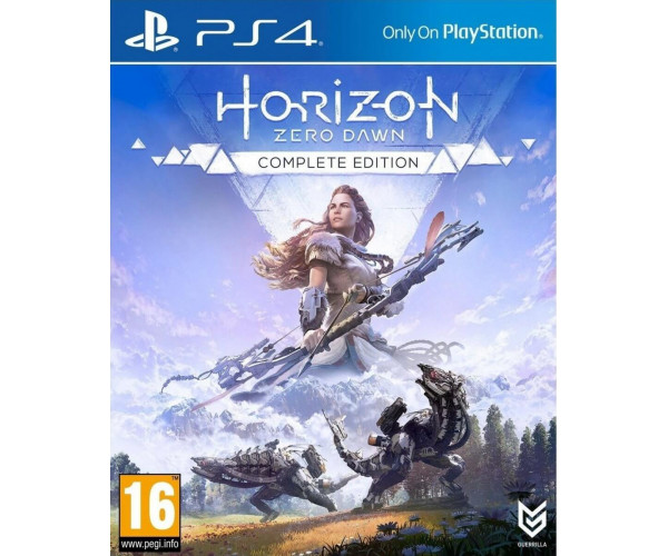 HORIZON ZERO DAWN COMPLETE EDITION - PS4 GAME
