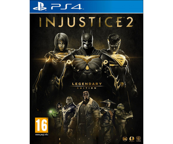 INJUSTICE 2 LEGENDARY STEELBOOK EDITION – PS4 GAME
