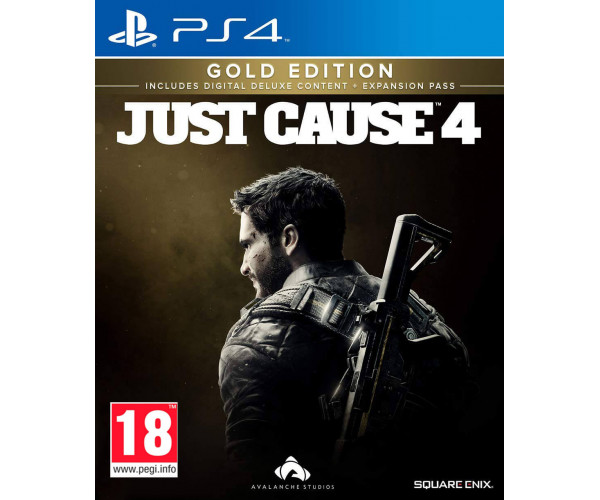 JUST CAUSE 4 GOLD EDITION - PS4 NEW GAME