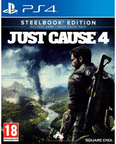 JUST CAUSE 4 STEELBOOK EDITION - PS4 NEW GAME
