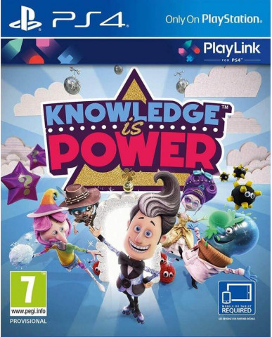 KNOWLEDGE IS POWER (ΑΓΓΛΙΚΗ ΓΛΩΣΣΑ) – PS4 GAME