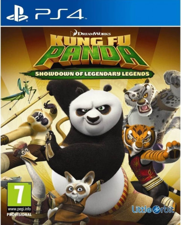 KUNG FU PANDA SHOWDOWN OF LEGENDARY LEGENDS - PS4 GAME