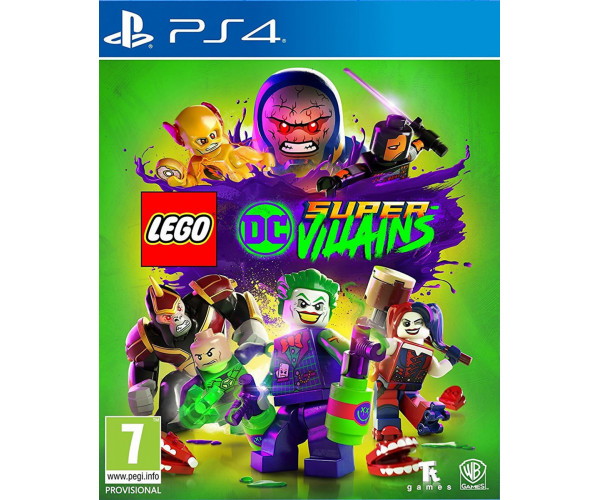 LEGO DC SUPER-VILLAINS - PS4 GAME