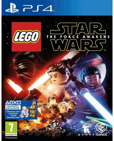 LEGO STAR WARS: THE FORCE AWAKENS - PS4 GAME