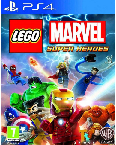 LEGO MARVEL SUPER HEROES - PS4 GAME