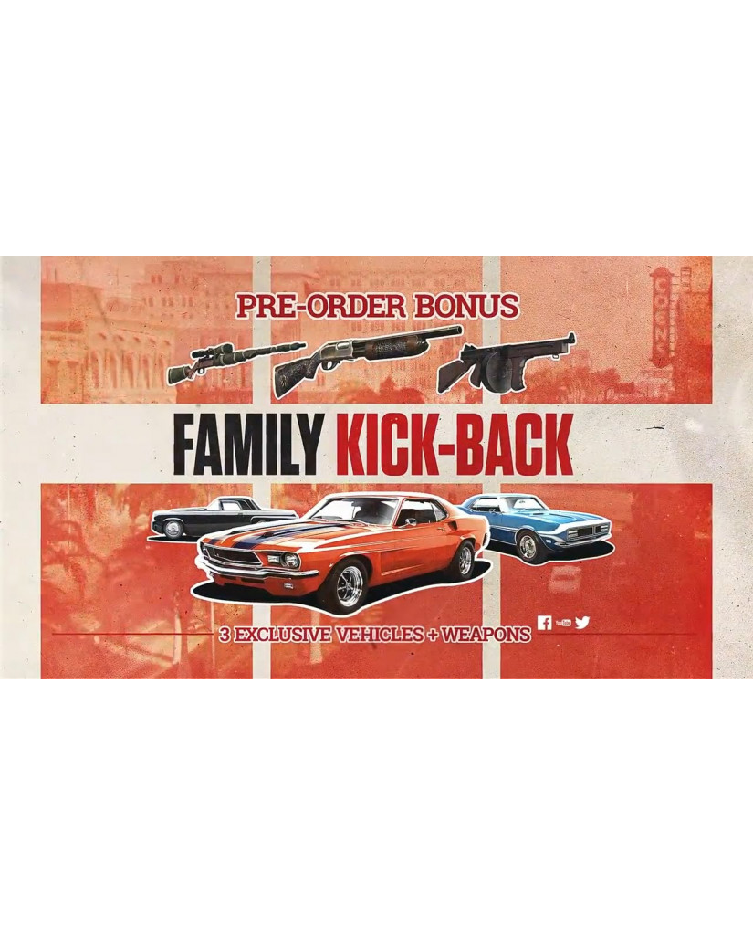 MAFIA III DELUXE EDITION + FAMILY KICK-BACK DLC - PS4 GAME
