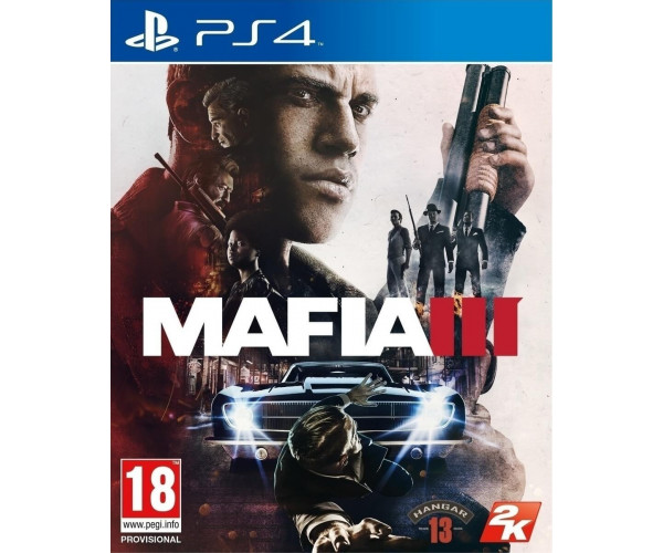 MAFIA III + FAMILY KICK BACK DLC - PS4 GAME