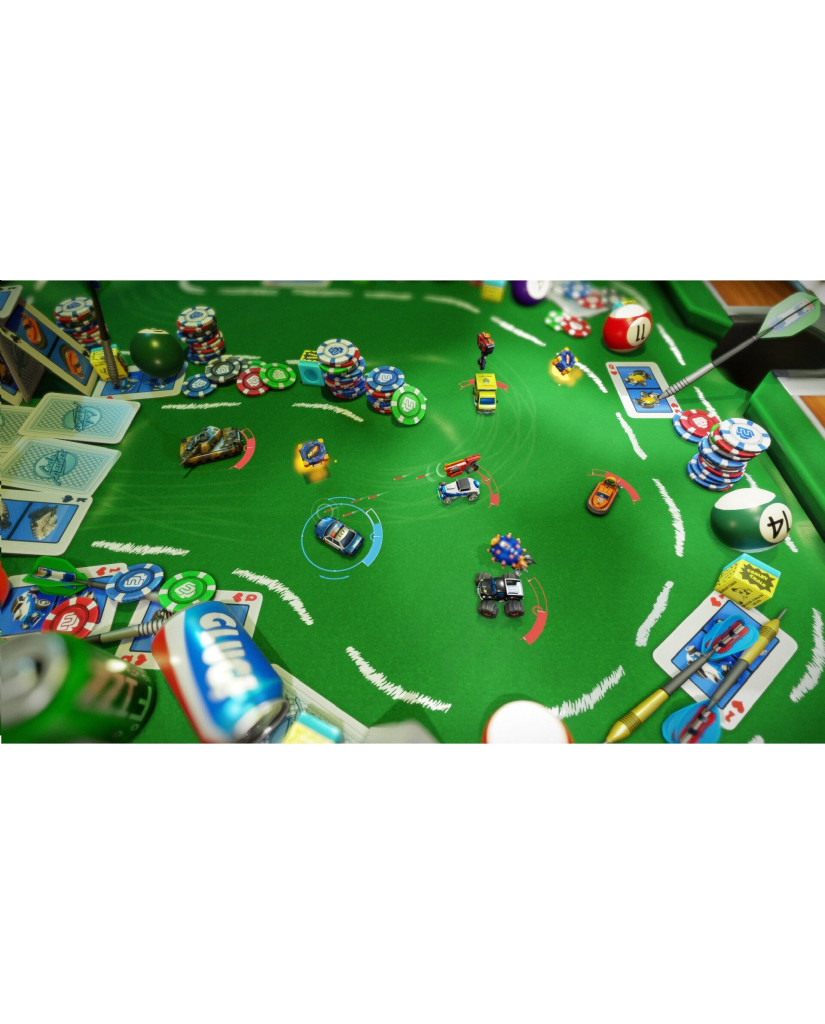 MICRO MACHINES WORLD SERIES - PS4 GAME