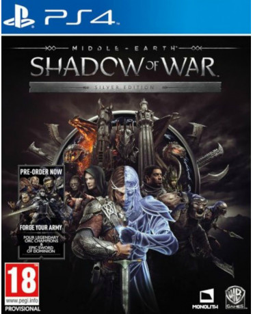 MIDDLE EARTH: SHADOW OF WAR ΠΕΡΙΛΑΜΒΑΝΕΙ PRE-ORDER BONUS FORGE YOUR ARMY DLC - PS4 GAME