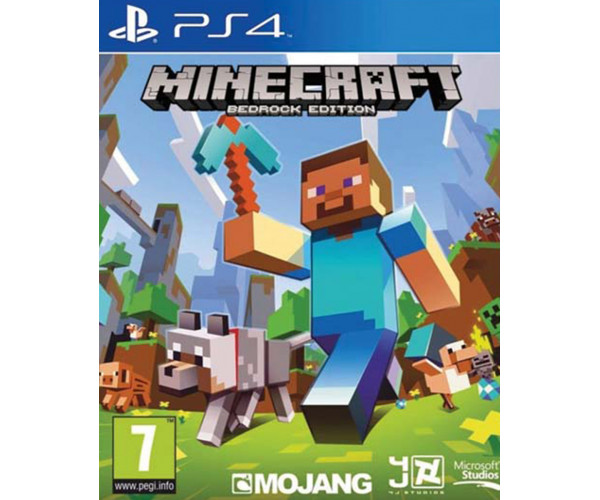 MINECRAFT BEDROCK EDITION - PS4 GAME