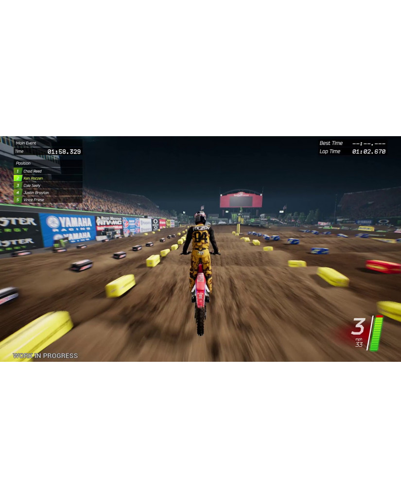 MONSTER ENERGY SUPERCROSS: THE OFFICIAL VIDEOGAME 2 - PS4 GAME