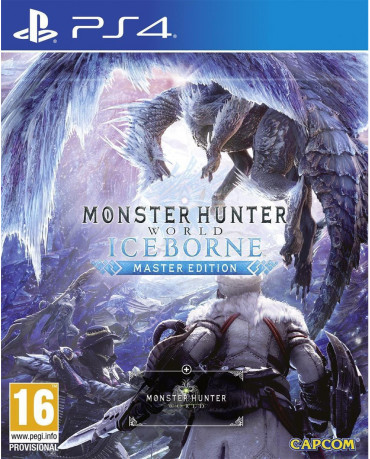 MONSTER HUNTER WORLD ICEBORNE MASTER EDITION - PS4 NEW GAME