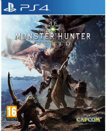 MONSTER HUNTER WORLD + HORIZON ZERO DOWN CONTENT - PS4 GAME