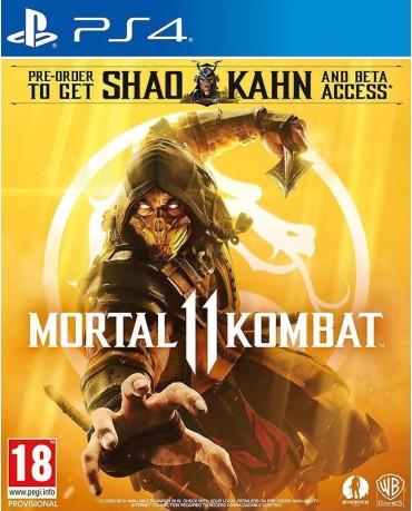 MORTAL KOMBAT 11 + SHAO KAHN PRE-ORDER BONUS – PS4 GAME