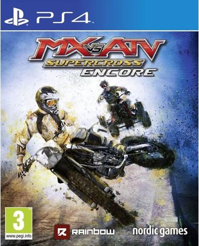 MX VS. ATV SUPERCROSS ENCORE - PS4 GAME