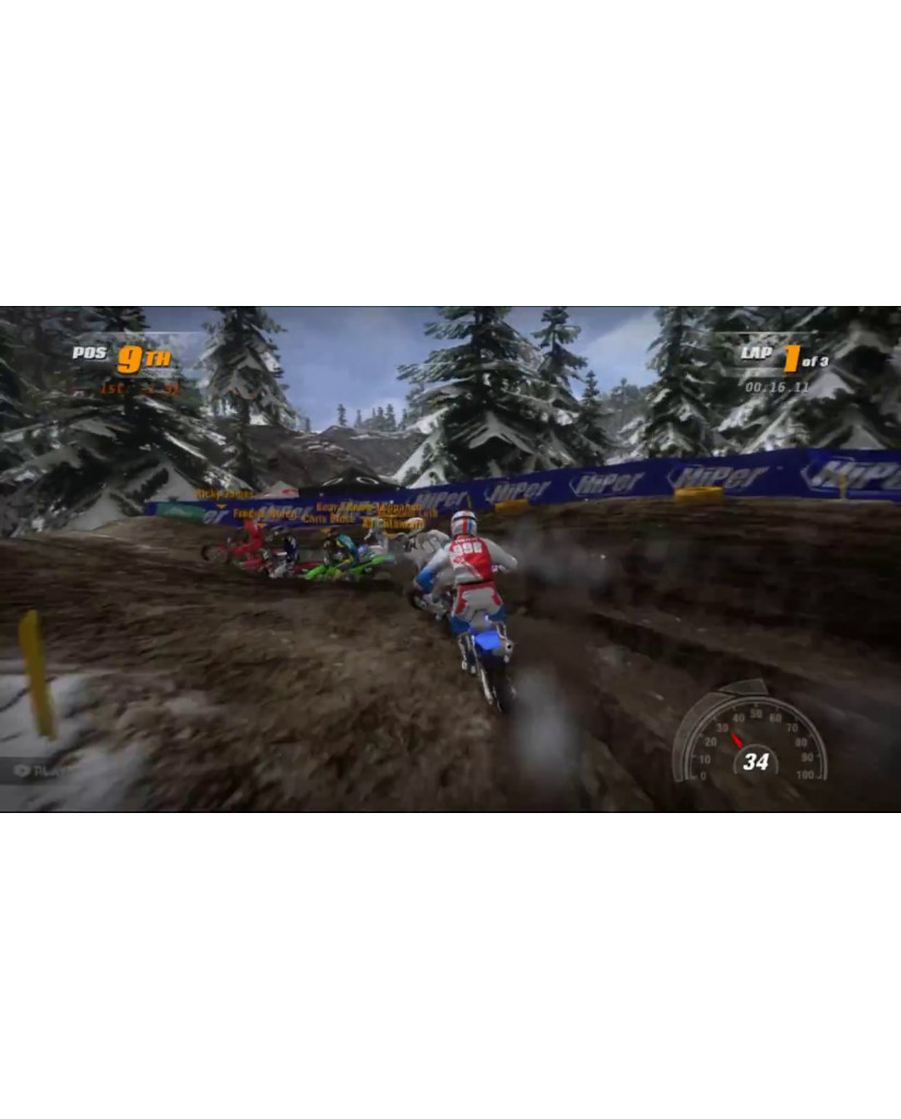 MX VS. ATV SUPERCROSS ENCORE - PS4 GAME